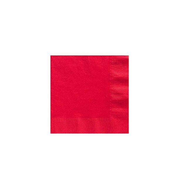 Mørke Røde Servietter