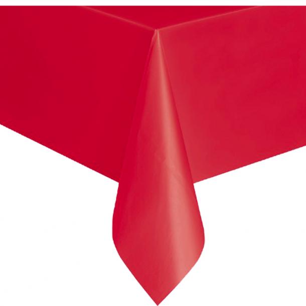Rød Plast Dug